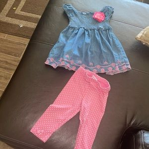 toddler girls size 4T outfit
